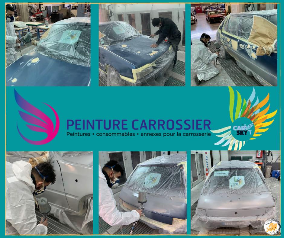 Réparations - carrosserie